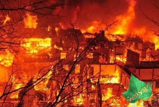 火灾逃生方法及自救常识